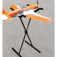 Model Rack Aluminium Model Stand Ideal for Gliders and Models up to 50kg from Multiplex 1-01230