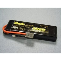 o-bm5003 5000mAh 11.1V 3S1P 30C Semi Hard by Black Magic Ideal for Traxxas TRX-4 Summit, E-Revo, Slash