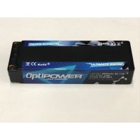 Optipower 8500mAh 7.4v 50c Lipo Car Pack OPR85002S100B
