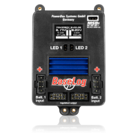 PowerBox BaseLog 3410 with MPX - MPX & MPX - JR Leads