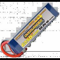 6250mAh 6S 22.2v 35C LiPo Battery - Overlander Supersport Pro