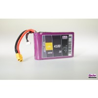 Hacker TopFuel LiFe Battery 3S 4100mAh 30C With MTAG Ideal for KingTech Turbines
