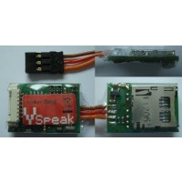 Vspeak Variometer Pro with 3-axis Accelerometer and a Single Cell Monitoring for up to 28 Volts