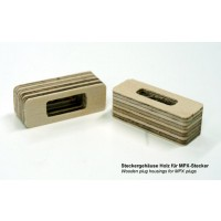 Emcotec MPX 6 Pin Wooden Plug Housings 2 pieces A85017 (2357)