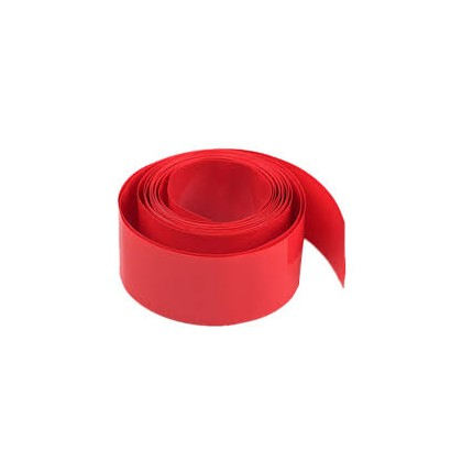 25.4mm Flame Retardant Heat shrink Tubing 2 to 1 Shrink - Red 1m Length