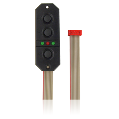 PowerBox SensorSwitch With Extended Cable Red Connector 40cm Length 9050
