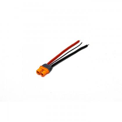 "Spektrum IC3 Battery Connector 4"" / 100mm 13 AWG SPMXCA306"