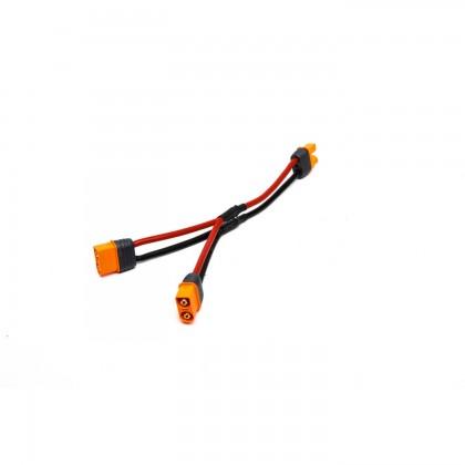 "Spektrum IC3 Battery Parallel Y-Harness 6"" / 150mm 13 AWG SPMXCA307"