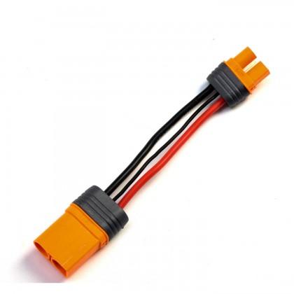 "Spektrum IC5 Device to IC3 Battery 4"" / 100mm 10 AWG SPMXCA507"