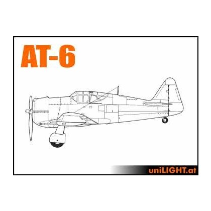 Light Bundle for the CARF North American T-6 1:4, scale. 3.2m wingspan