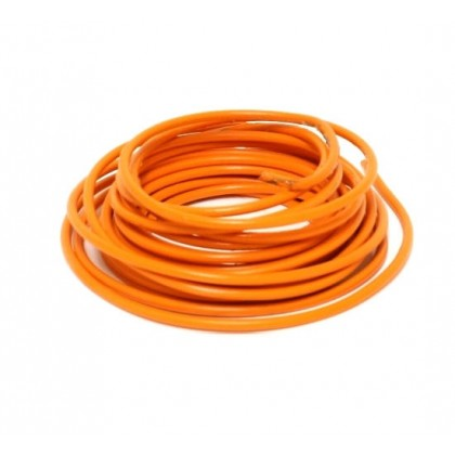 Silicone Wire - 14AWG - Orange Sold per 1M length from the reel