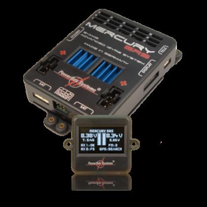 Powerbox Mercury SRS & iGyro with GPS III Automatic gain adjustment 4110-111