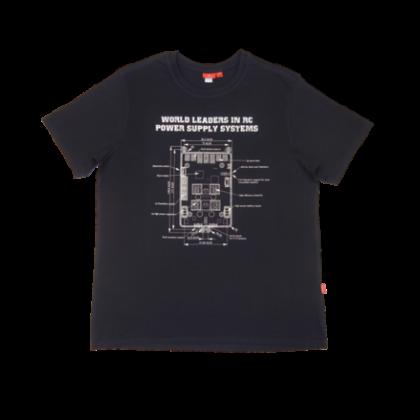 Powerbox T-Shirt - Navy Blue Large