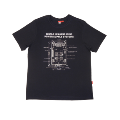 Powerbox T-Shirt - Navy Blue Medium