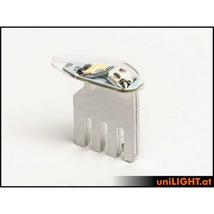Unilight 7Wx2, 9mm DUAL Navigation + Flash, DUAL9-070x2-GNWE