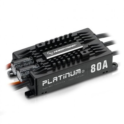 Hobbywing Platinum Pro 80A V4 Speed Controller HW30203200