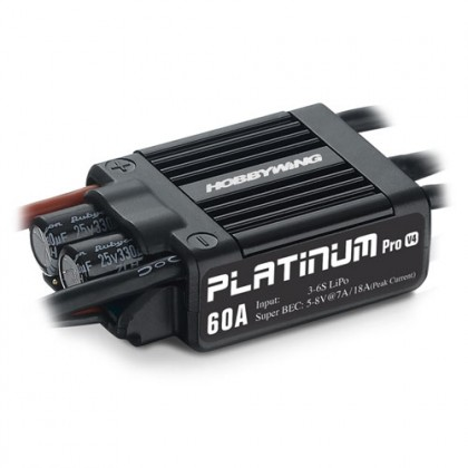Hobbywing Platinum Pro 60A LV V4 Speed Controller HW30215100