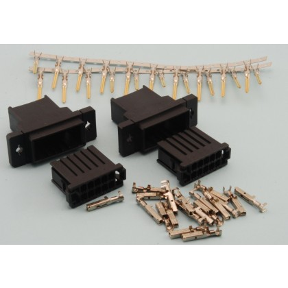 Intairco 10 Pin Click Connect Multipin Connectors Ideal for Wing or Stab Wiring IAC-272