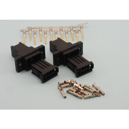 Intairco 6 Pin Click Connect Multipin Connectors Ideal for Wing or Stab Wiring (IAC-271)
