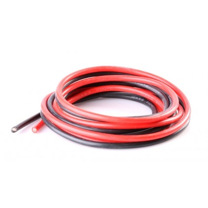 Logic RC Silicone Wire 10AWG 1m Black/1m Red (O-LGL-SW10AWG)