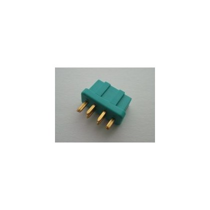 MPX Connector 100 amp High Current Green - Female