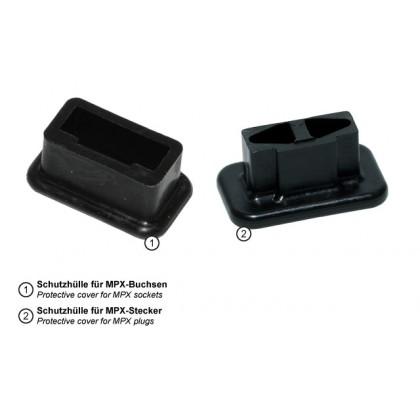 Emcotec MPX Protective Plug Cover for Female Plug MPX 6 Pin Plug 5 pieces A86016-1006