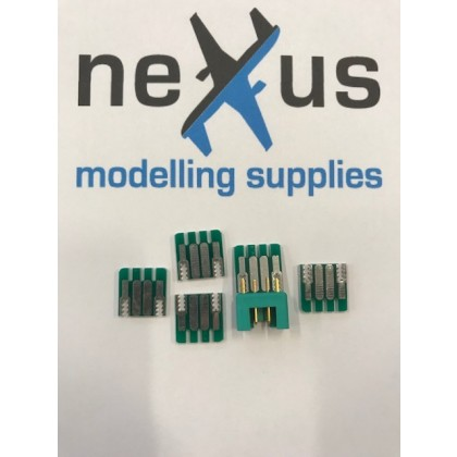 MPX 6 pins without connector PCB Solder Wire Connector 5 pack
