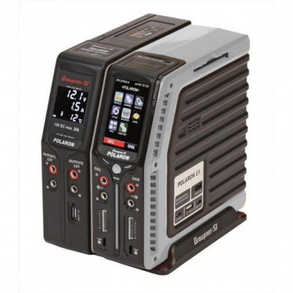 Graupner Polaron Ex Combo Charger/Power Supply S2001 - Various Colours