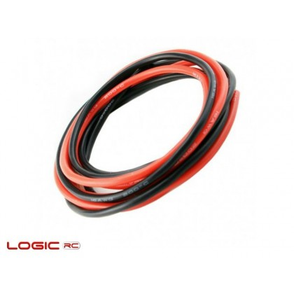 Logic RC Silicone Wire 12AWG 1m Black/1m Red (O-LGL-SW12AWG)