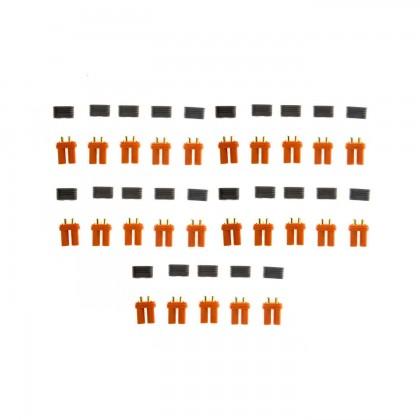 Spektrum IC5 Battery Connectors Bulk (25) SPMXCA511