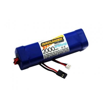 Overlander Panasonic Eneloop 2000mAh AA 9.6v Transmitter TX Square 2876