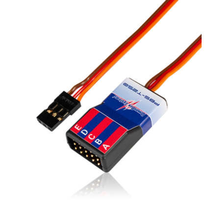 PowerBox PBS-T250 Temperature Sensor 6621 for CORE P²BUS Multiplex M-Link Jeti EX-Bus Futaba