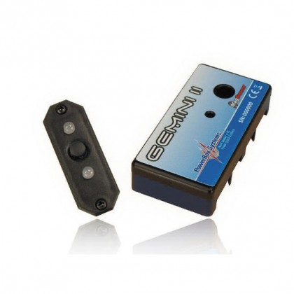 PowerBox Gemini II Double Regulator with MAG Sensor Switch 3125