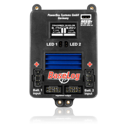PowerBox BaseLog 3410 Now Replaced by the PowerBox Source Battery Backer 3420
