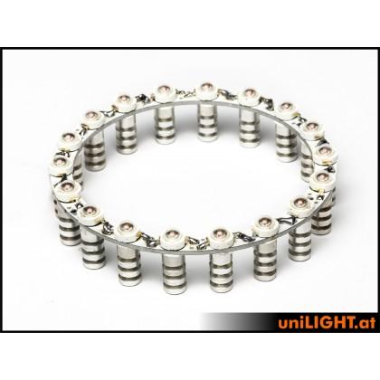 UniLight Afterburner Ring 76mm 1300+ Lumen RING-76-OR