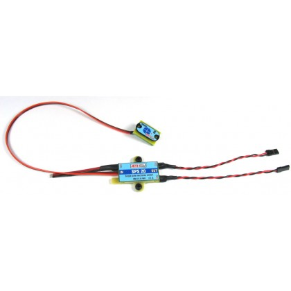 SPS 20 Electronic Switch 10A from Jeti Model J-SPS-20 22985472