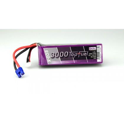 Hacker TopFuel ECO-X 6S 3000mAh 20C LiPo Battery 23000631
