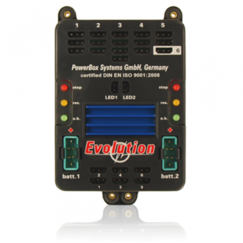 PowerBox Evolution 4230 with battery backer system