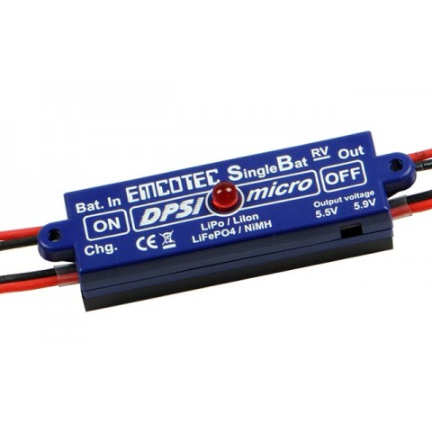 Emcotec DPSI Micro SingleBat 5.5V/5.9V JR - MPS Replaced By A11062