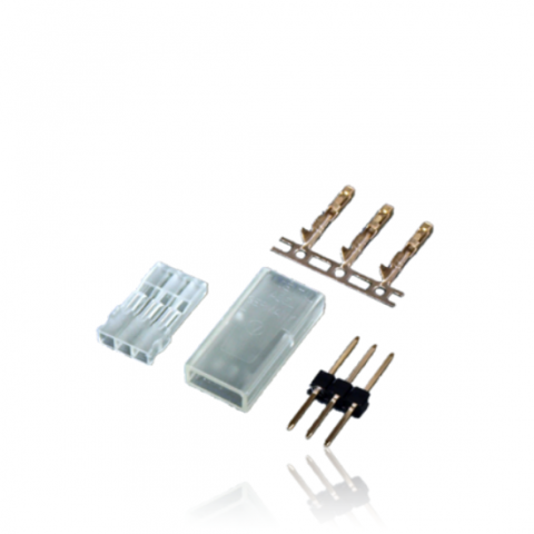 PowerBox JR Servo Connector Set Male - Pack Of 10 1050
