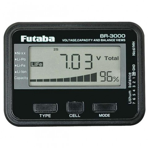 Futaba Battery Checker / Balancer - Universal P-BR-3000