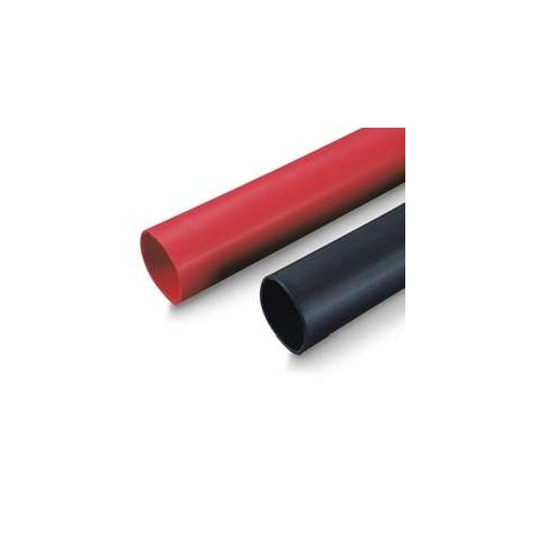 """3/8"""" 9.5mm Heat Shrink Tubing 1 Metre - Red 2 to 1 Shrink"""