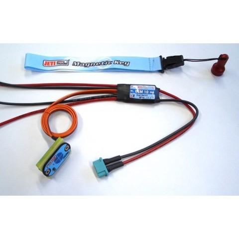DSM-10 Dual Battery Intelligent Switch from Jeti 22985480 JETI DSM10