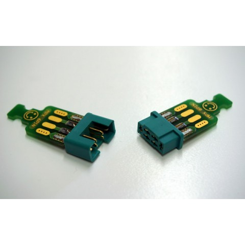 Emcotec MPX 6 pins with connector/access to 2 pairs A86010/2330