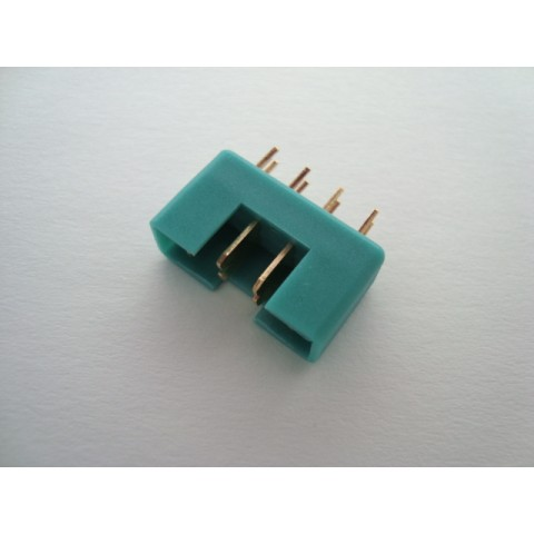 MPX 8 Pin Connector Green - Male