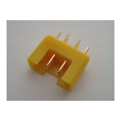 MPX Connector Yellow - Male