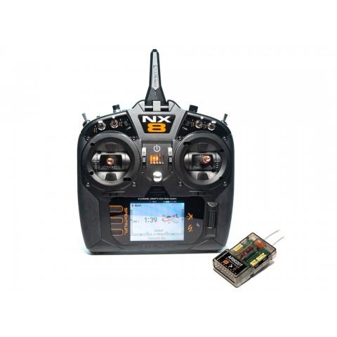 Spektrum NX8 8 Channel DSMX Transmitter With AR8020T Receiver SPM8200EU