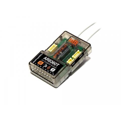 Spektrum AR8360T 8-Channel SAFE & AS3X Telemetry Receiver SPMAR8360T