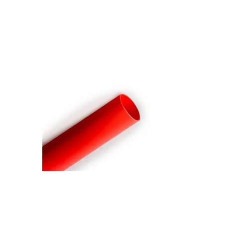 "1/8"" (3.2mm) Heat Shrink Tubing 1 Metre - Red"