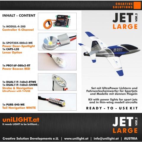 UniLight Jet Large Lighting Set